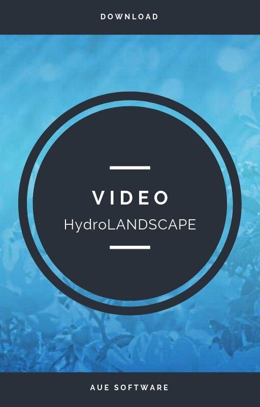Proyecto de irrigación de jardín con el software HydroLANDSCAPE