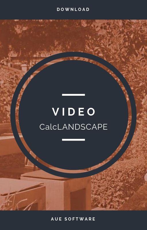 Presupuestos para proyecto de paisajismo e irrigación con CalcLANDSCAPE