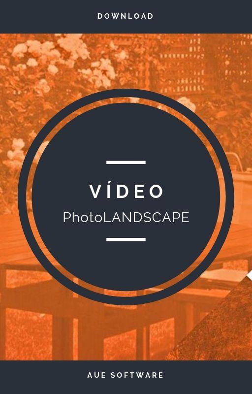 Projeto de paisagismo com o PhotoLANDSCAPE