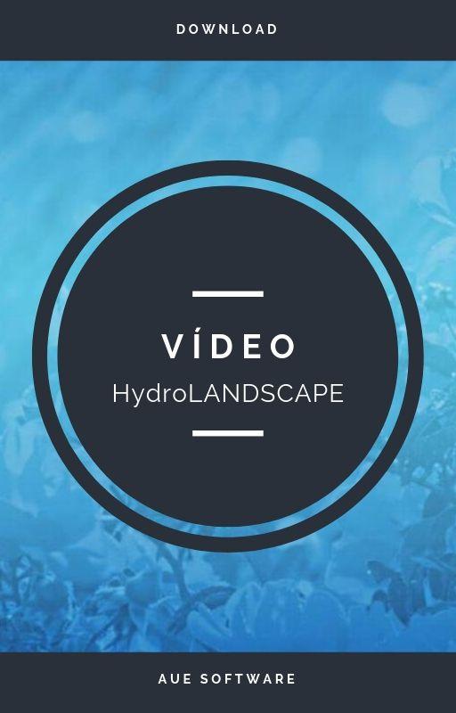 Tenha o que é necessário para fazer um projeto de irrigação com o HydroLANDSCAPE!