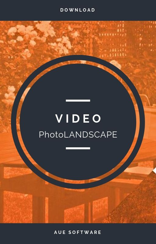 Proyecto de paisajismo con fotomontaje con el software PhotoLANDSCAPE