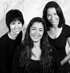 Paisagistas Kátia Matos, Regina Rocha e Juliana Aguiar